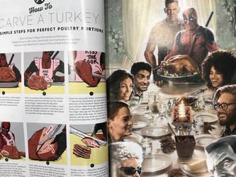 Good Housekeeping Deadpool special by AOPaul