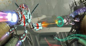 Skyhopper Battle by AOPaul