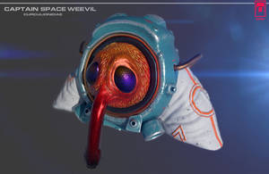 Captain Space Weevil