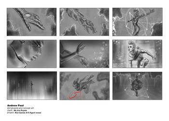 Valorant Astra Reaveal Storyboards