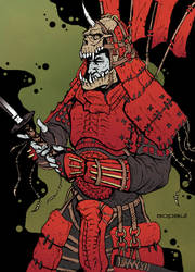 Ronin Colored version. by AOPaul