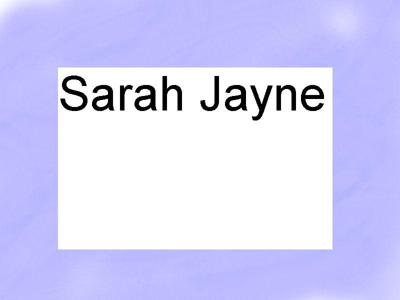 sarah Jayne by sarah998812