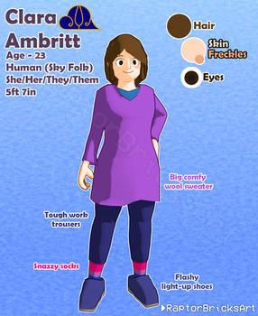 [OC] Clara Ambritt - Character Sheet