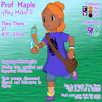 [OC] Prof. Maple Profile