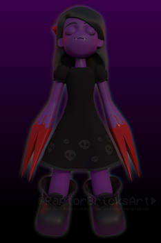 The Clawed Girl [They Bleed Pixels] (Alt Render)