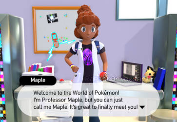 Maple - Welcome to the World of Pokemon!