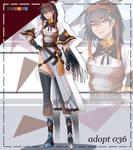 (OPEN) warrior girl