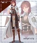 (CLOSED) Adopt warrior girl