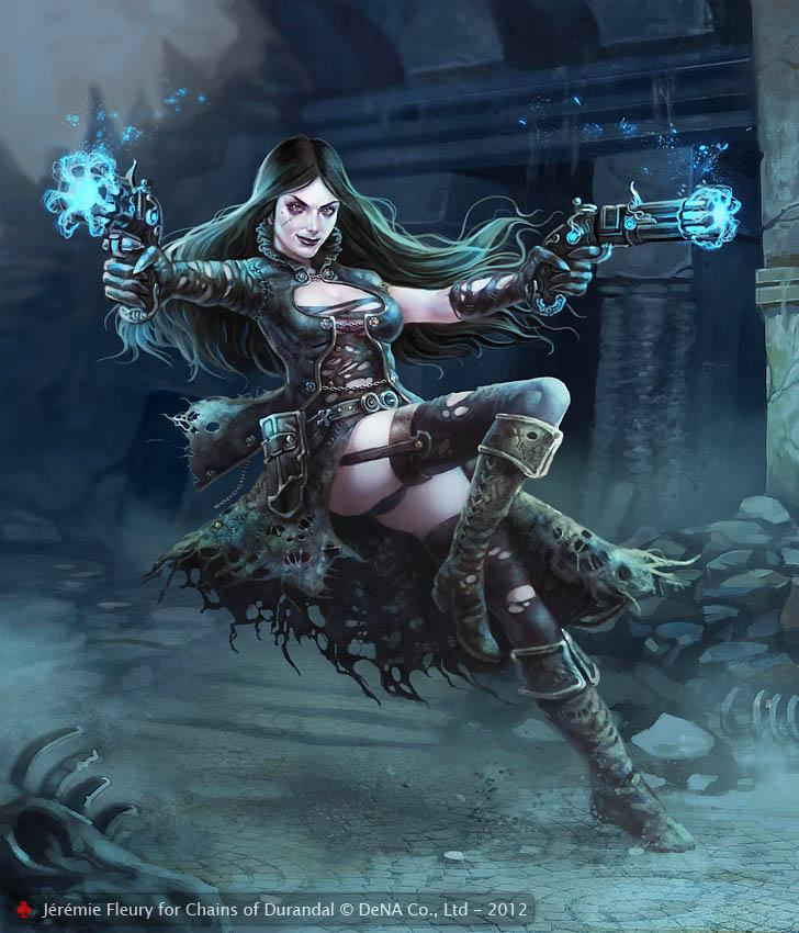 Renia, Gunslinger by Trefle-Rouge