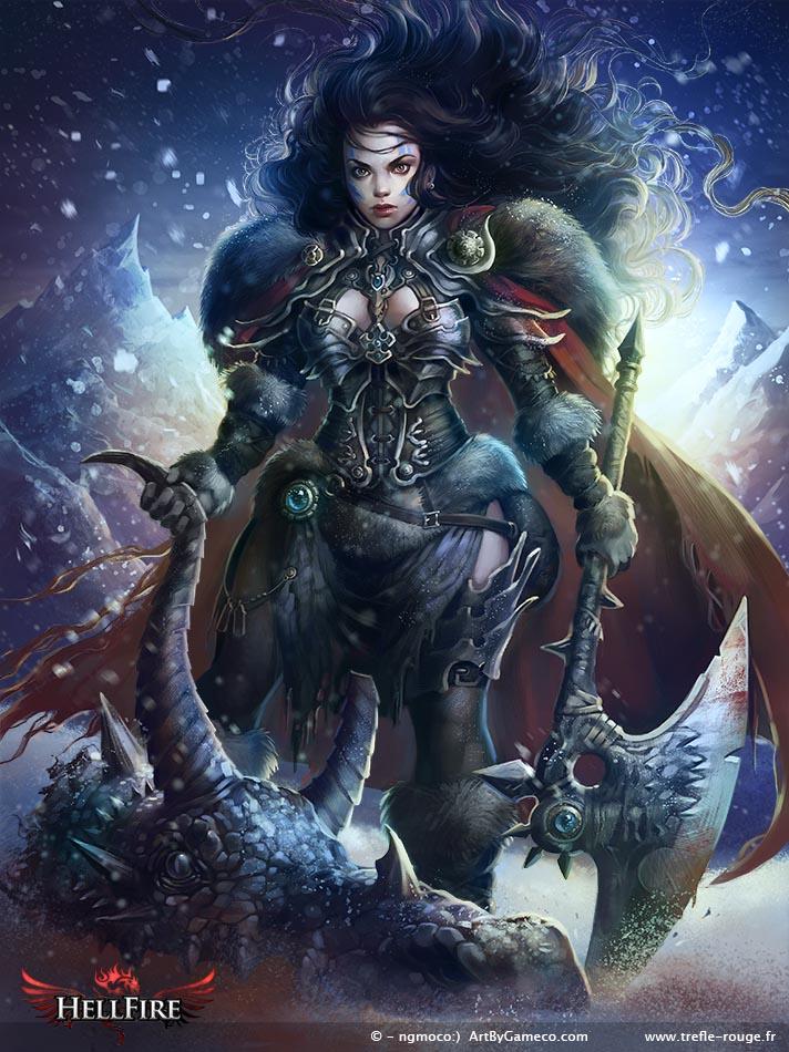 Dragon Slayer Ella by Trefle-Rouge