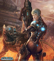 Galaxy Assault - Svea Igrid by Trefle-Rouge