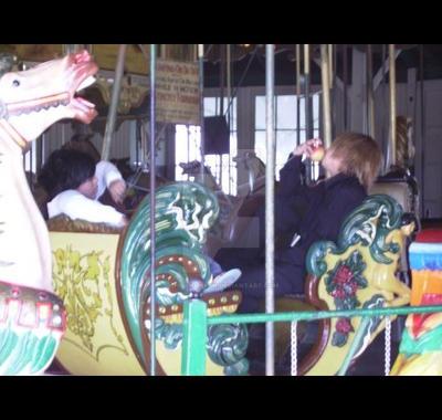 ride the carousel by chibi-kunkun