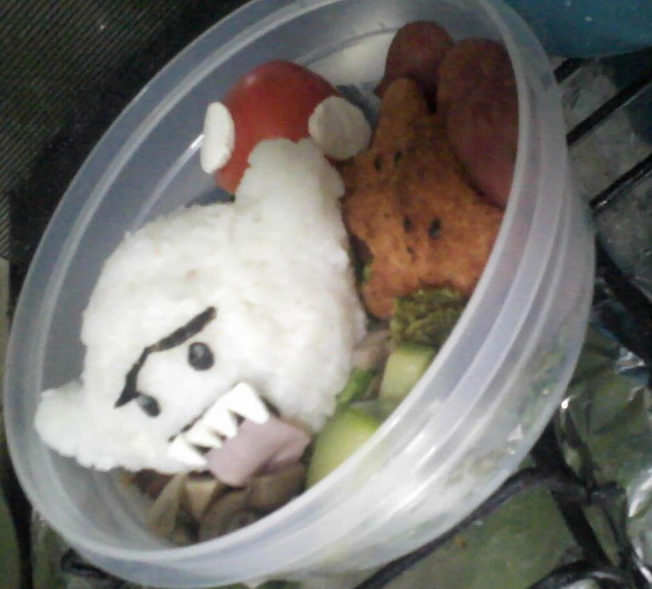 Mario Bros. Bento by Gurome-chan