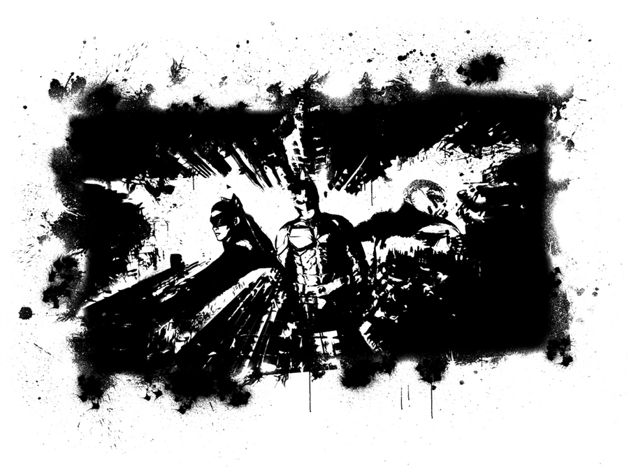 Batman Wall Art (w/o A Wall) By Randbaek ...