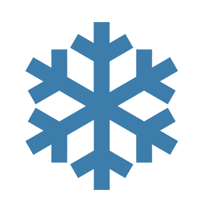 Snow Flake ISO Symbol xD by MetalJacksonFire