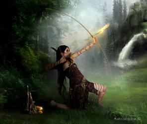 Huntress by AdriaticaCreation