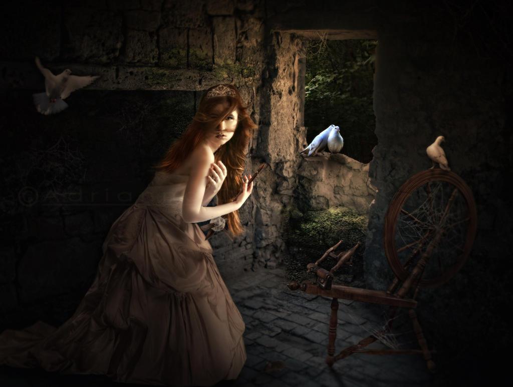 Sleeping Beauty by AdriaticaCreation