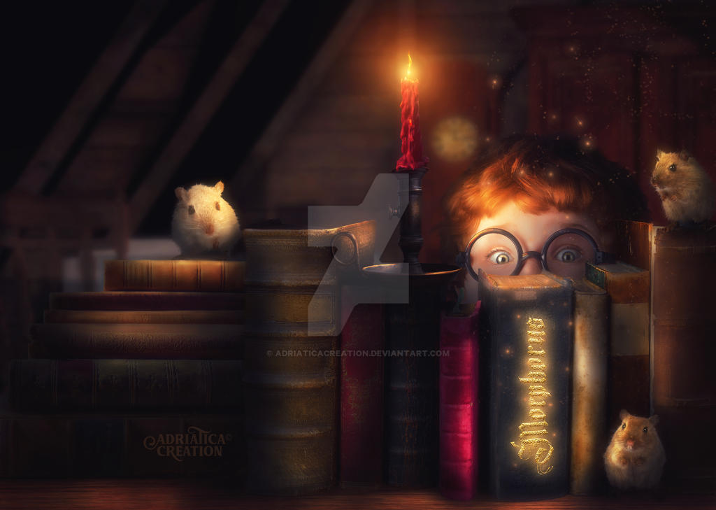 The Book of Spells by AdriaticaCreation