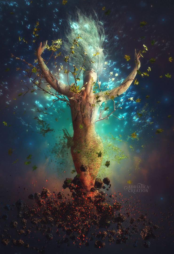 Terra - The beginning by AdriaticaCreation