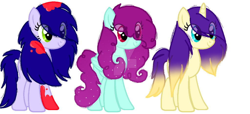 My Little Pony Adoptables - CLOSED 1/3 by StarShine-Adopts