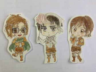 Attack on titans chibi by Supersherwho