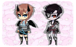 Chibi adopts Auction 2 [CLOSED] by Pikagaali