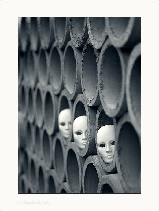Masks. 3 by ESafian