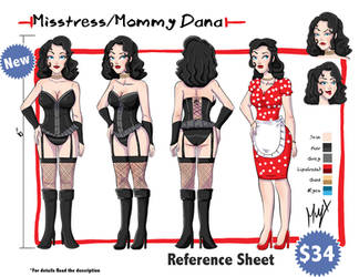 (NEW) Reference Sheet by Muy-x