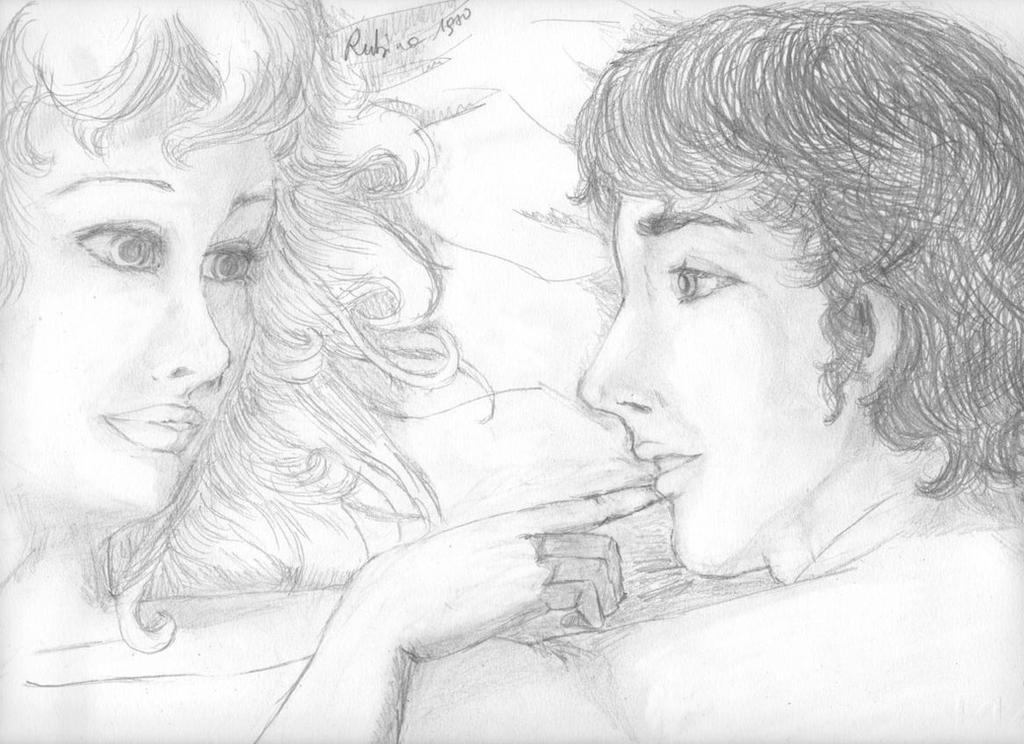 The Hot Night (GeorgiexArthur) by Rubina1970