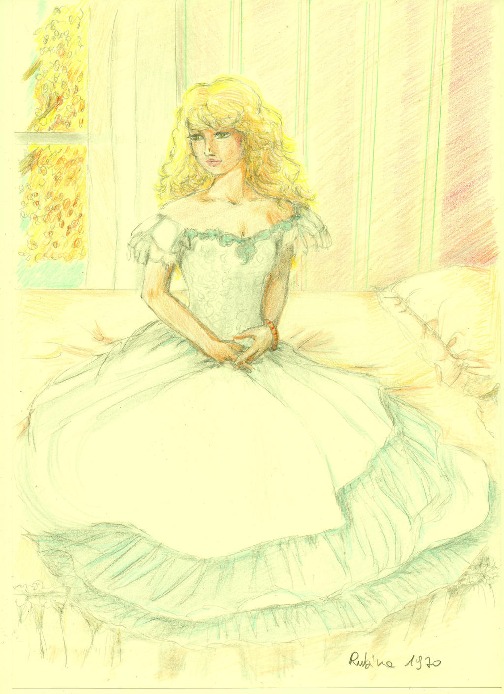 Georgie Before the Wedding by Rubina1970