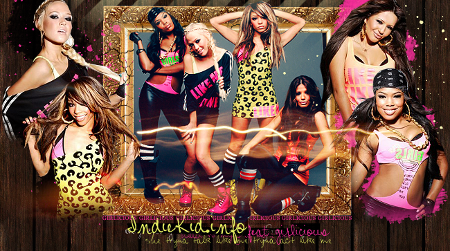 Girlicious layout by runawaymonster on DeviantArt