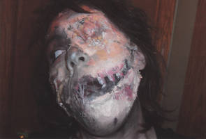 Zombie Makeup by van-ravenkroft