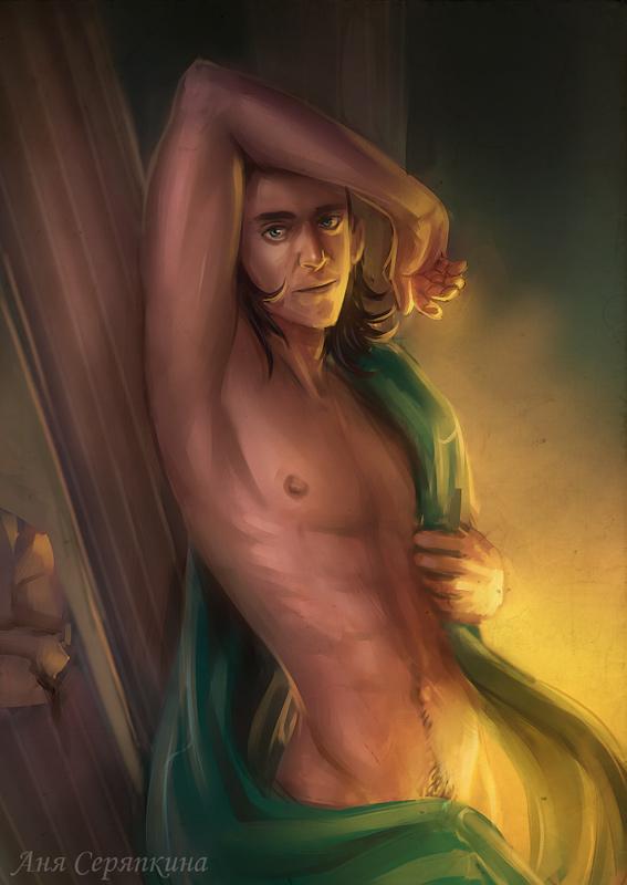 Hot Loki by Annet-CAT