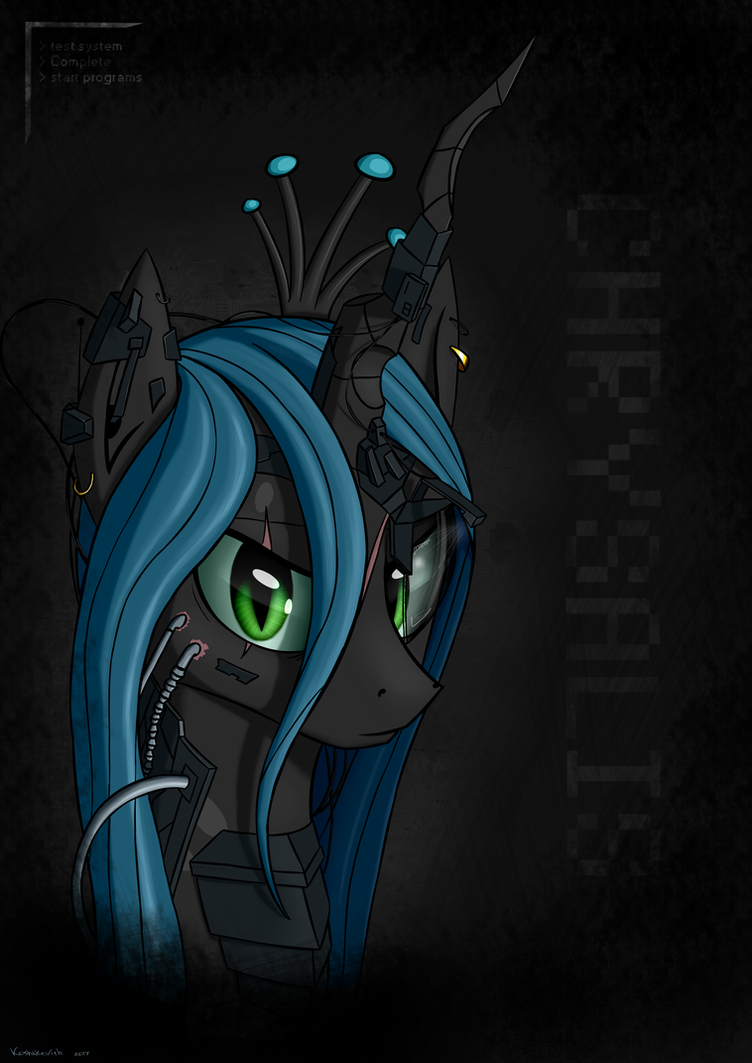 Queen Chrysalis by Koshakevich