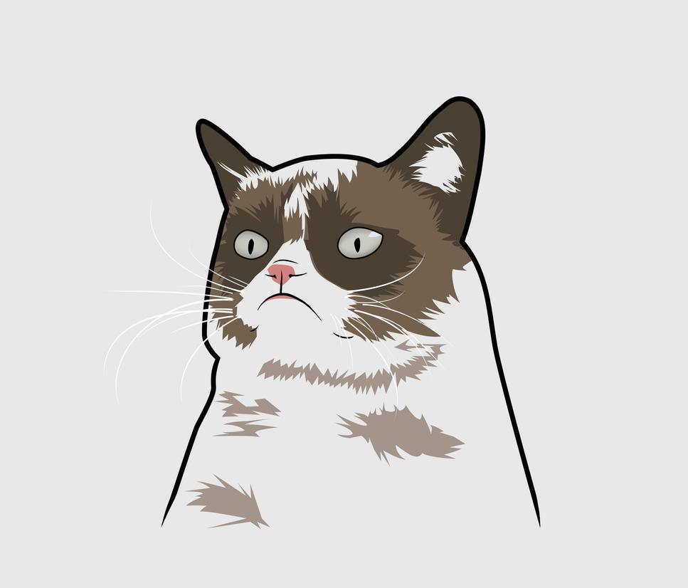 clipart grumpy cat - photo #20