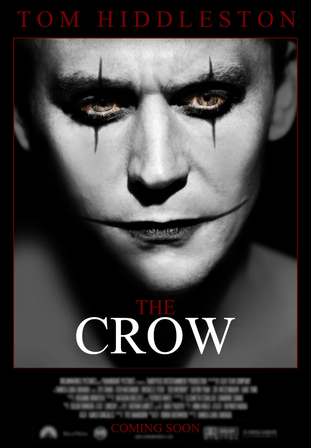 tom hiddleston in talks for the crow