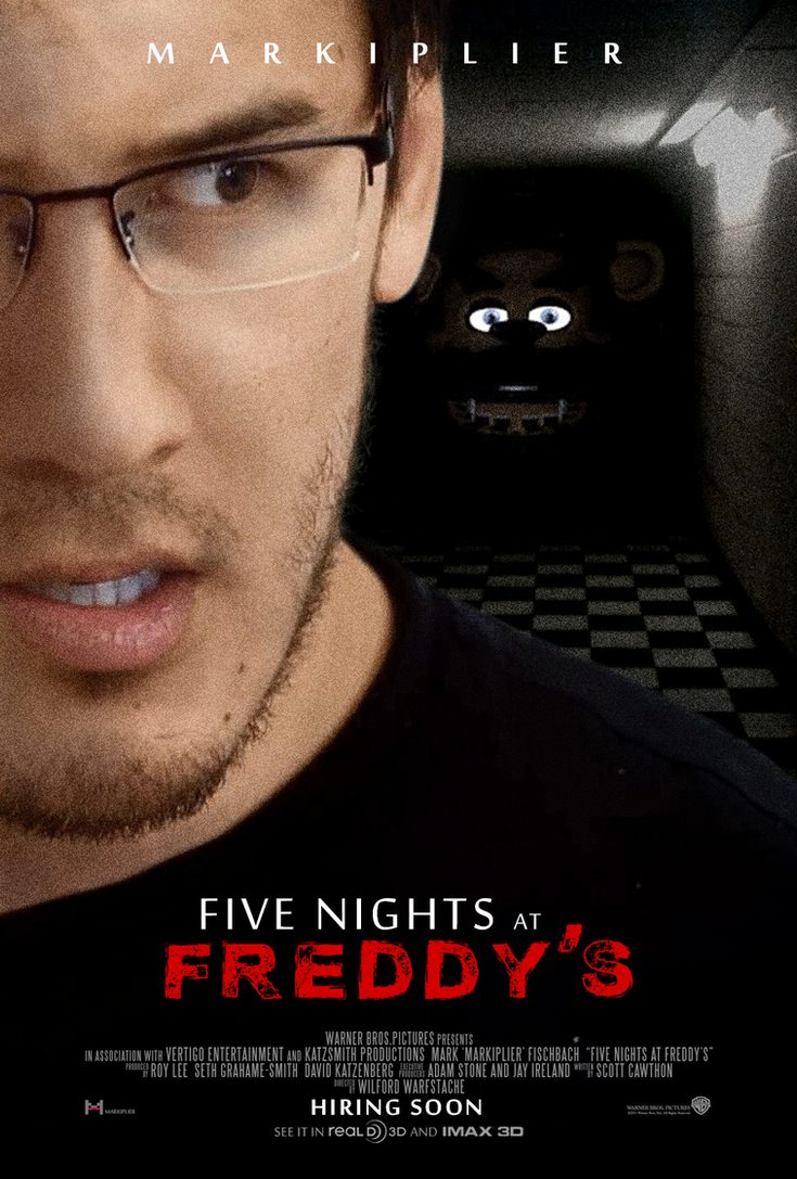 Five Nights At Freddy's movie poster by ImWithStoopid13