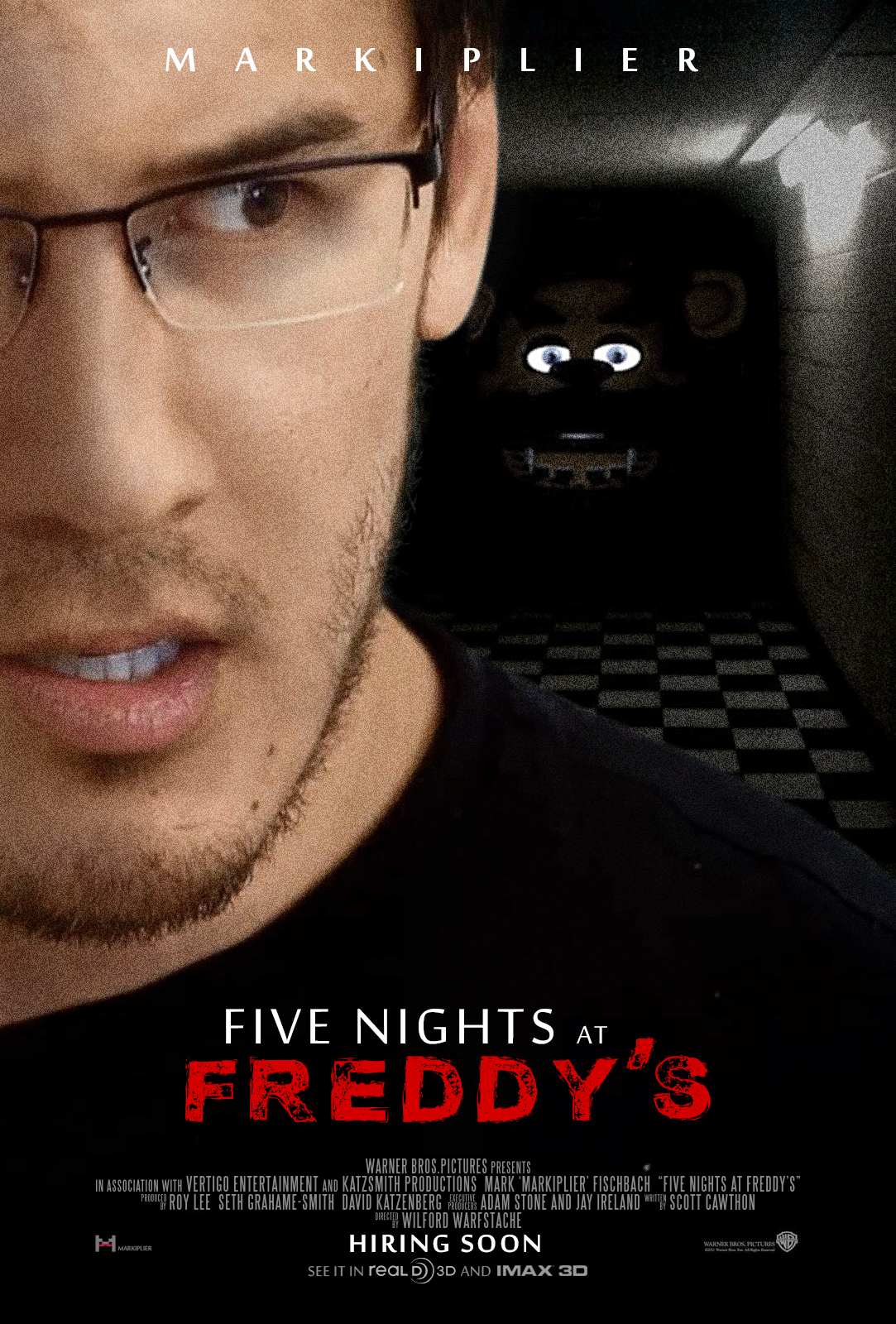 Movie nights at five freddy freddy s poster