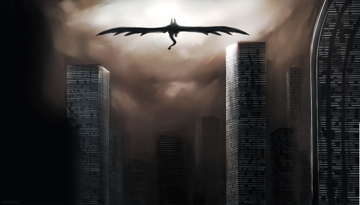 Urban Fantasy by namaira