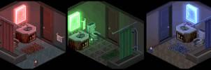 RGB Bathroom Sample Sets by lenstu82