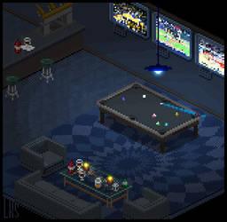 Spiffy Sports Lounge by lenstu82