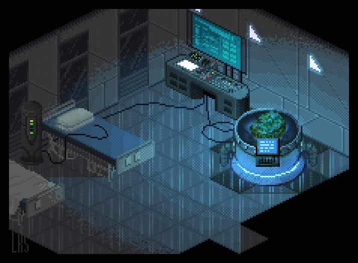 Biological Experimentation Room by lenstu82