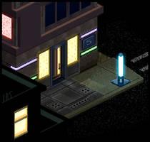 Cyber Punk Streets Set 2 by lenstu82