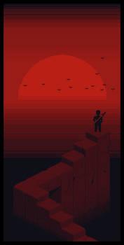 Crimson Dusk by lenstu82