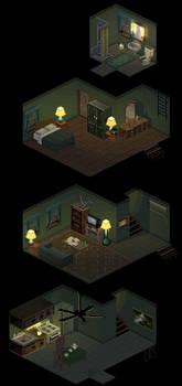 Three Story Apt. by lenstu82