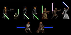 Canon Jedi Collection (Custom Sprites) by Aeruhl