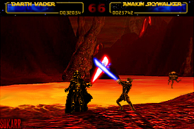The Conflict Within (Vader VS Anakin) by Aeruhl