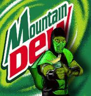 Reptile endorses Mountain Dew by Aeruhl