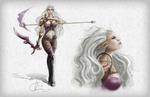 Female Elf Warrior Character Sheet