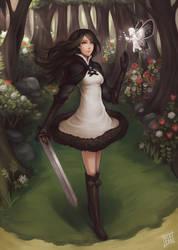 Bravely Default : Agnes Oblige 2.0 by acetea-san